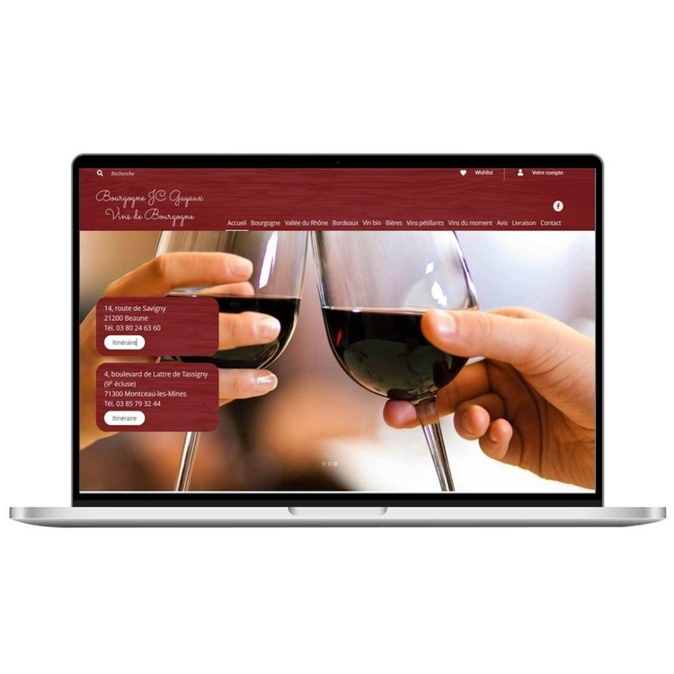 Cellier Bourguignon JC Guyaux Vin de Bourgogne